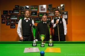 Finalisté MČR ve Snookeru 2017